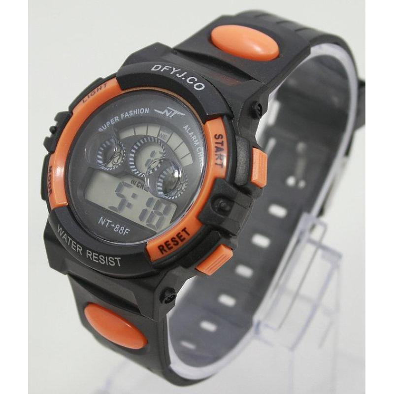 Đồng hồ điện tử trẻ em IDMUASAM 7992 (Cam) bán chạy
