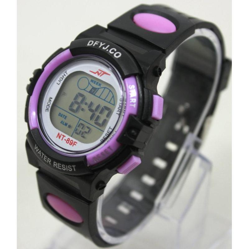 Đồng hồ điện tử trẻ em IDW 2445 (Tím) bán chạy