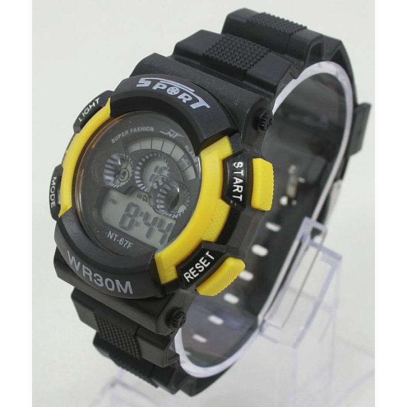 Đồng hồ điện tử trẻ em IDW 7953 (Vàng) bán chạy