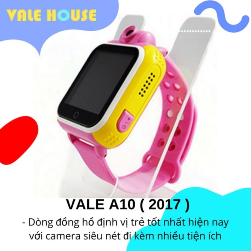 Đồng hồ định vị GPS, gọi điện thông minh trẻ em VALE A10 (Hồng Phấn ) bán chạy
