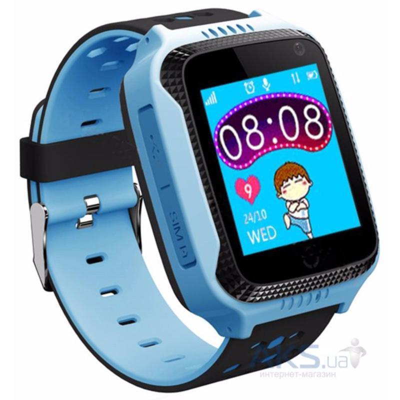 Đồng hồ định vị trẻ em GPS - Smart Watch Q528 Tracker GPS (Xanh Dương) bán chạy