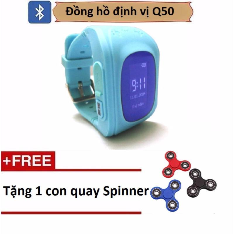 Đồng hồ định vị trẻ em SmartWatch Q50 Tặng con quay spinner bán chạy