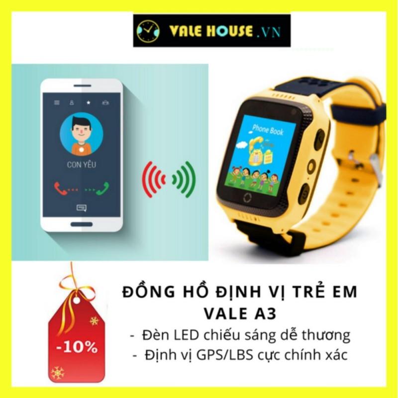 Nơi bán Đồng hồ định vị trẻ em VALE A3 VÀNG NẮNG 0018