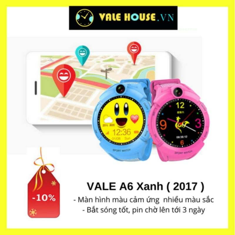 Đồng hồ định vị trẻ em VALE A6 XANH ĐẠI DƯƠNG 8956 bán chạy