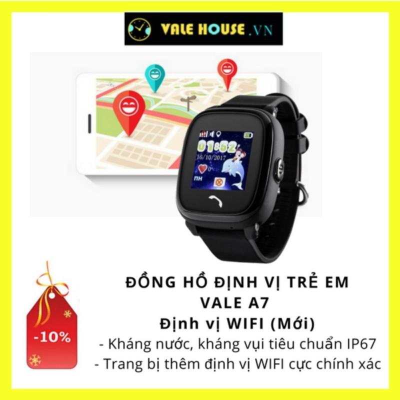Đồng hồ định vị trẻ em VALE A7 ĐEN ĐÁ 0012 bán chạy