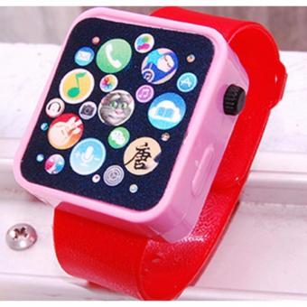 Đồng hồ đồ chơi cho bé (đỏ)