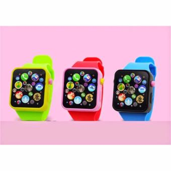 Đồng hồ đồ chơi cho bé (xanh)