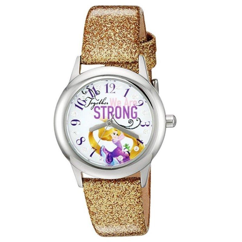 Đồng Hồ Kháng Nước Bé Gái Disney Rapunzel Analog Display Analog Quartz Gold Watch (Mỹ) bán chạy