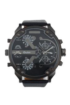 Đồng hồ màu đen kiểu quân đội Oulm cao cấp