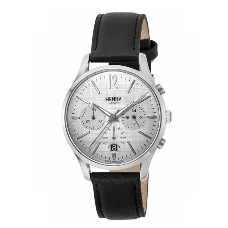 Nơi bán Đồng hồ unisex dây da Henry London HL39-S-0120 (Xám) - Hãng Phân phối chính thức