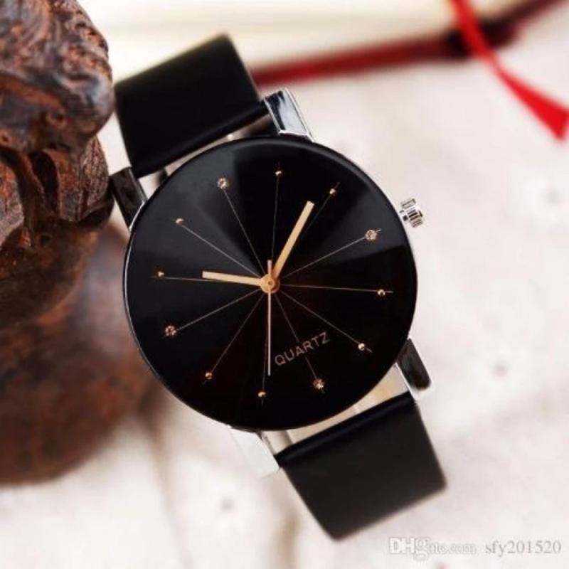 Nơi bán Đồng hồ nam dây da kính 3D HONGKONG