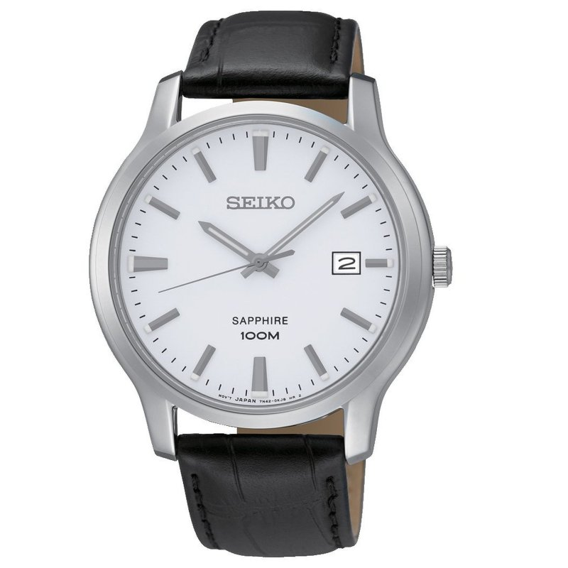 Nơi bán Đồng hồ nam dây da Seiko SGEH43P1