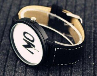 Đồng hồ nam dây da Sport họa tiết chữ No 1 - 5