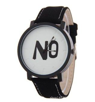 Đồng hồ nam dây da Sport họa tiết chữ No 1 - 4