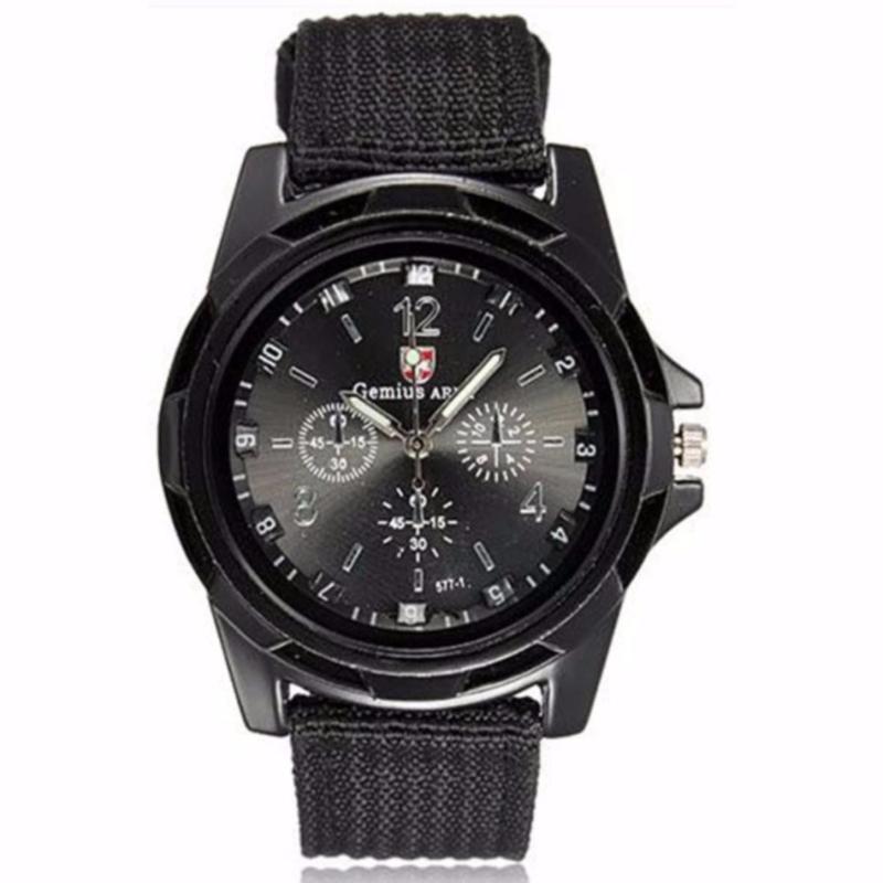 Nơi bán Đồng hồ nam dây dù Army AMY-7010-01 (Đen)