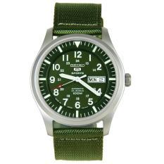Đồng hồ nam dây dù Seiko 5 SNZG09J1 (Xanh lá) Made in Japan