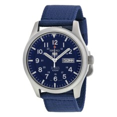 Đồng hồ nam dây dù Seiko 5 Sport SNZG11( Xanh dương)