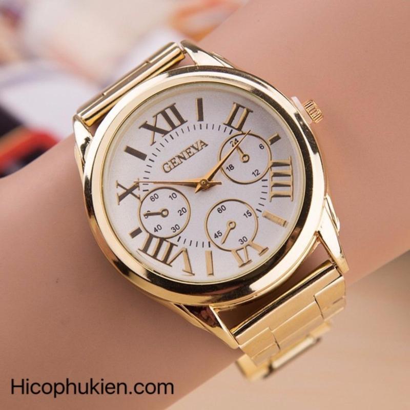 Nơi bán Đồng hồ nam dây hợp kim Geneva