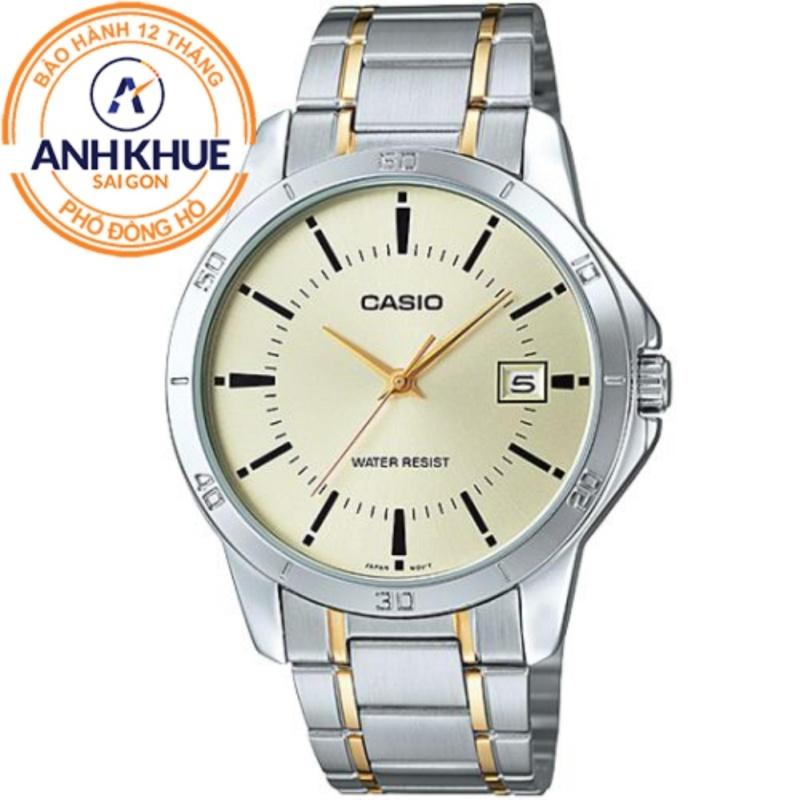 Nơi bán Đồng hồ nam dây da Casio Anh Khuê MTP-V004GL-9AUDF