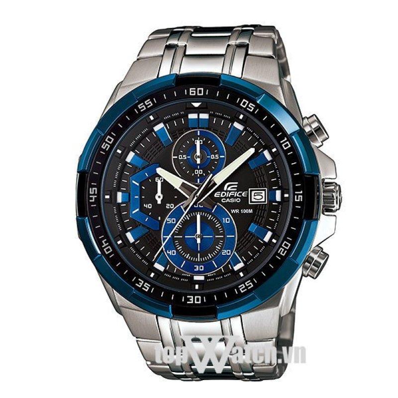 Nơi bán Đồng hồ nam dây kim loại Casio EFR-539D-1A2VUDF(Mặt Đen)