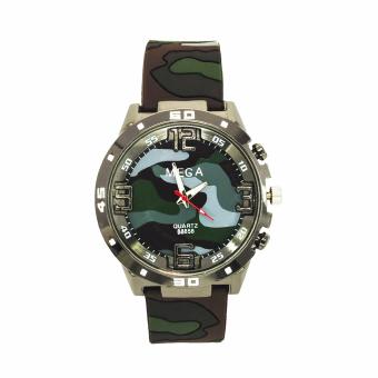 Đồng hồ nam dây Silicon Mega AMY2110-15NA