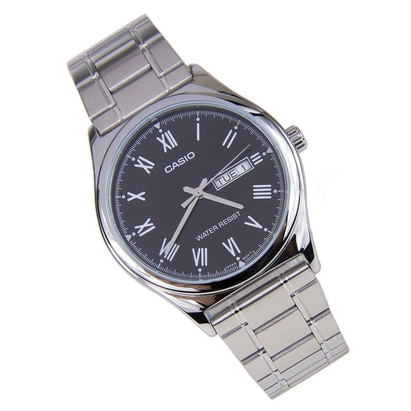 Nơi bán Đồng hồ nam dây thép Casio MTP-V006D-1BUDF (Bạc)