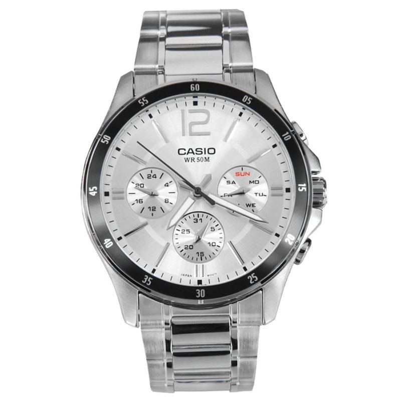 Nơi bán Đồng hồ nam dây thép không gỉ Casio MTP-1374D-7AVDF