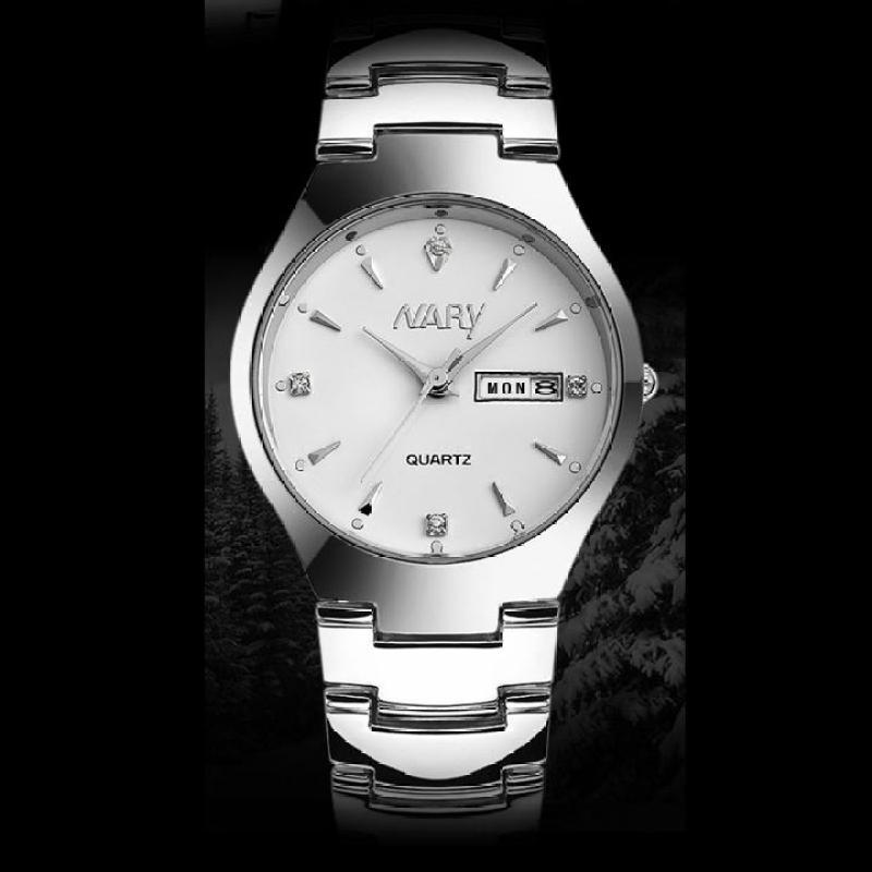 Nơi bán Đồng hồ nam dây thép không gỉ Nary IDW 7512 (Mặt trắng)