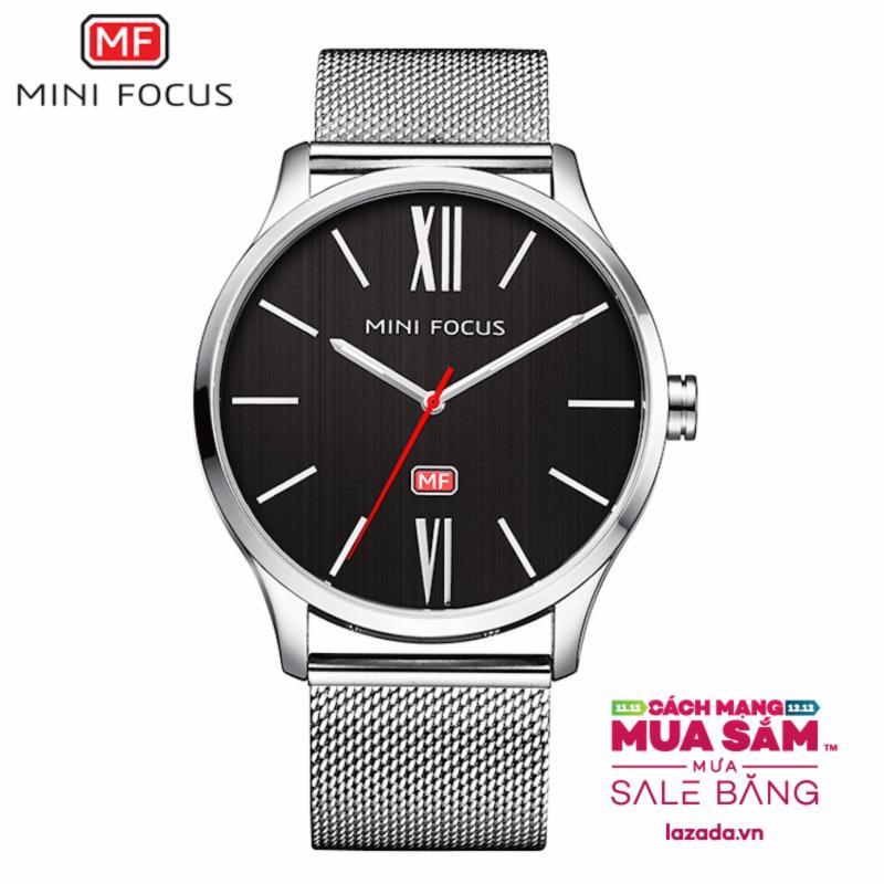 Nơi bán Đồng hồ nam Mini Focus dây thép lưới MDL-MF018
