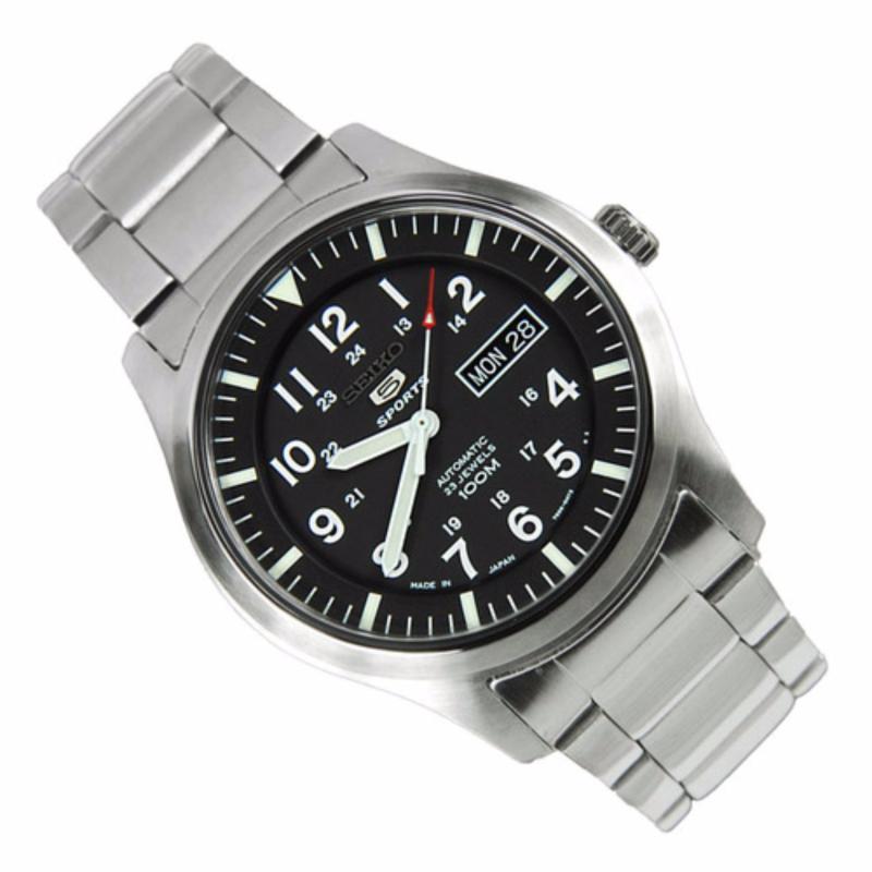 Nơi bán Đồng hồ nam quân đội Seiko 5 Sports SNZG13J1 (đen)