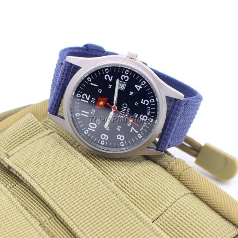 Nơi bán Đồng hồ nam SINO công nghệ Nhật Bản dây dù  TPO-8699 - tặng vòng tay phong thủy