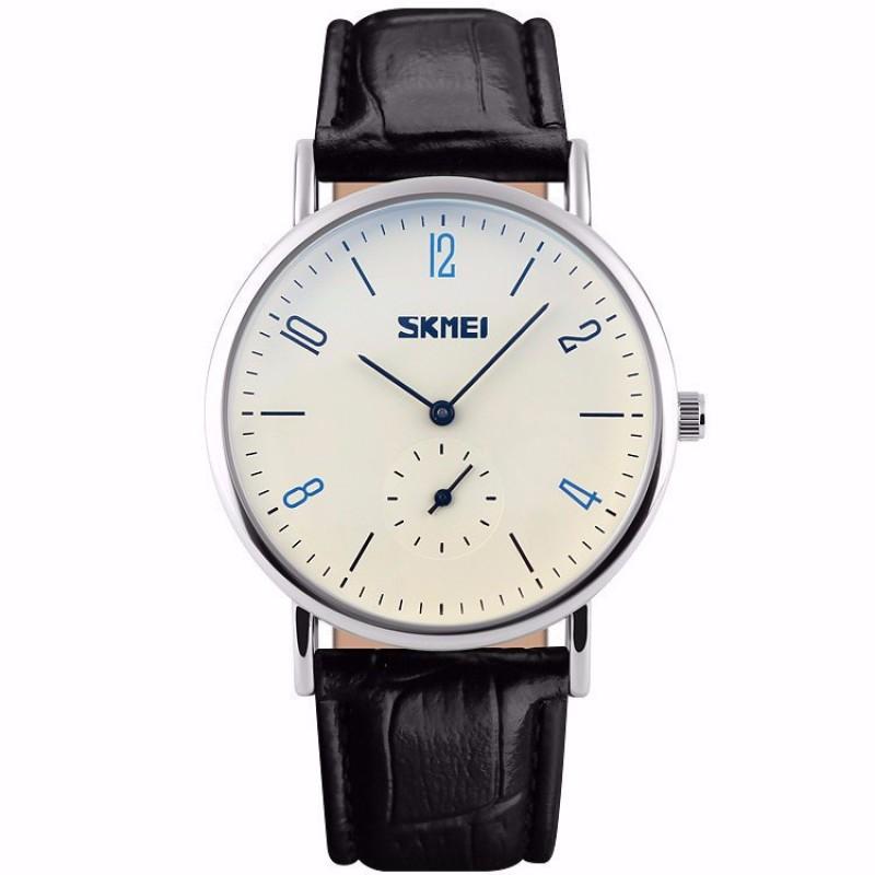 Nơi bán Đồng hồ nam SKMEI dây da SK2208 (Mặt trắng)