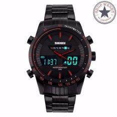 Đồng hồ nam thể thao đa chức năng SKMEI CH293 (Viền đỏ)