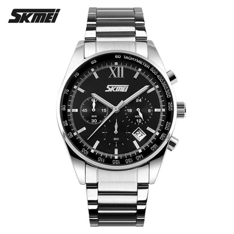 Nơi bán Đồng hồ nam thời trang chống nước Skmei ( Đen) SK 010