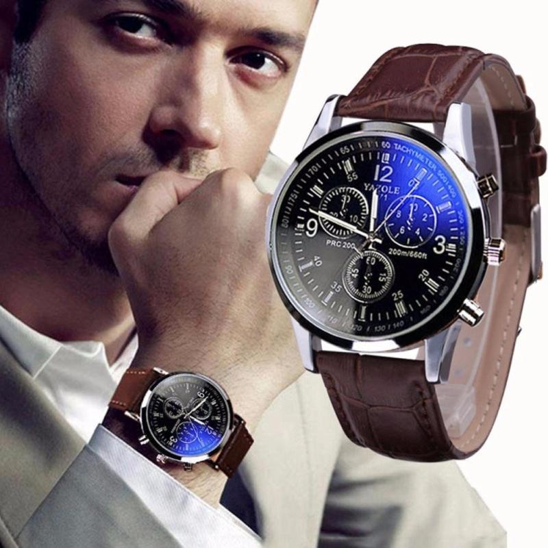 Nơi bán Đồng hồ nam thời trang YZL (Nâu)