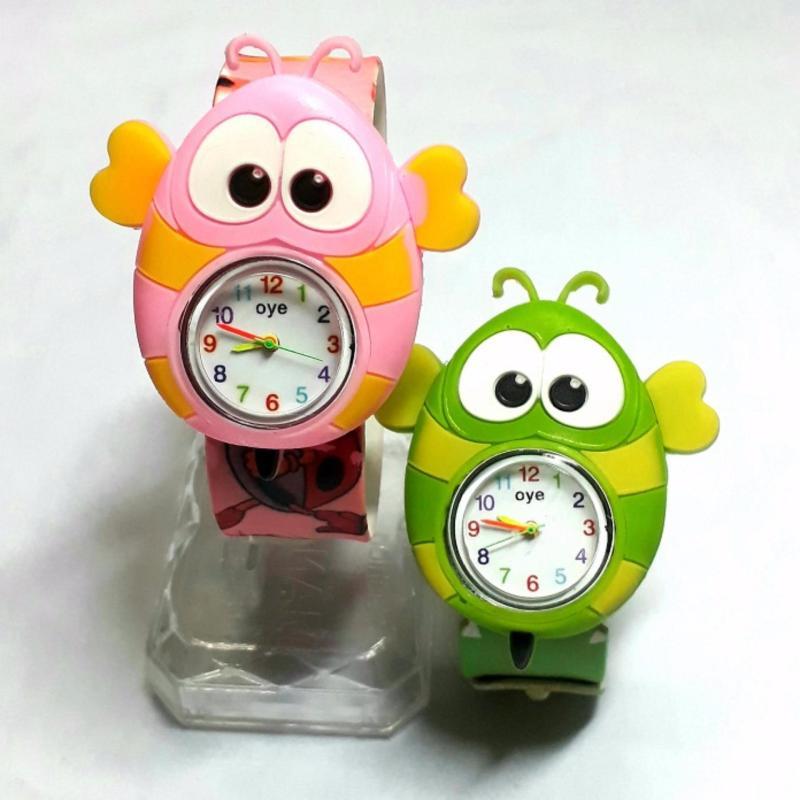 Đồng hồ nhựa dẻo tự uốn Con Ong bán chạy