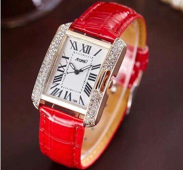 Đồng hồ nữ Angel #001 ( dây màu đỏ )