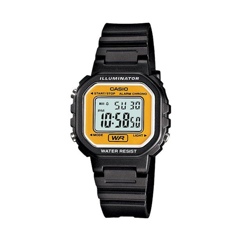 Nơi bán Đồng hồ nữ dây cao su Casio LA-20WH-9ADF (Đen)