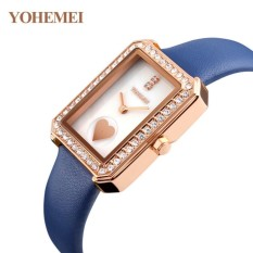 So Sánh Giá Đồng hồ nữ dây da đính đá YOHEMEI CH381 – L2A  Tini shop