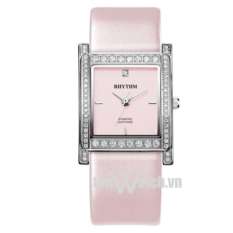 Nơi bán Đồng hồ nữ dây da RHYTHM L1204L02-LSH (Mặt Hồng)