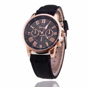Đồng hồ nữ dây da tổng hợp Geneva GE003-1