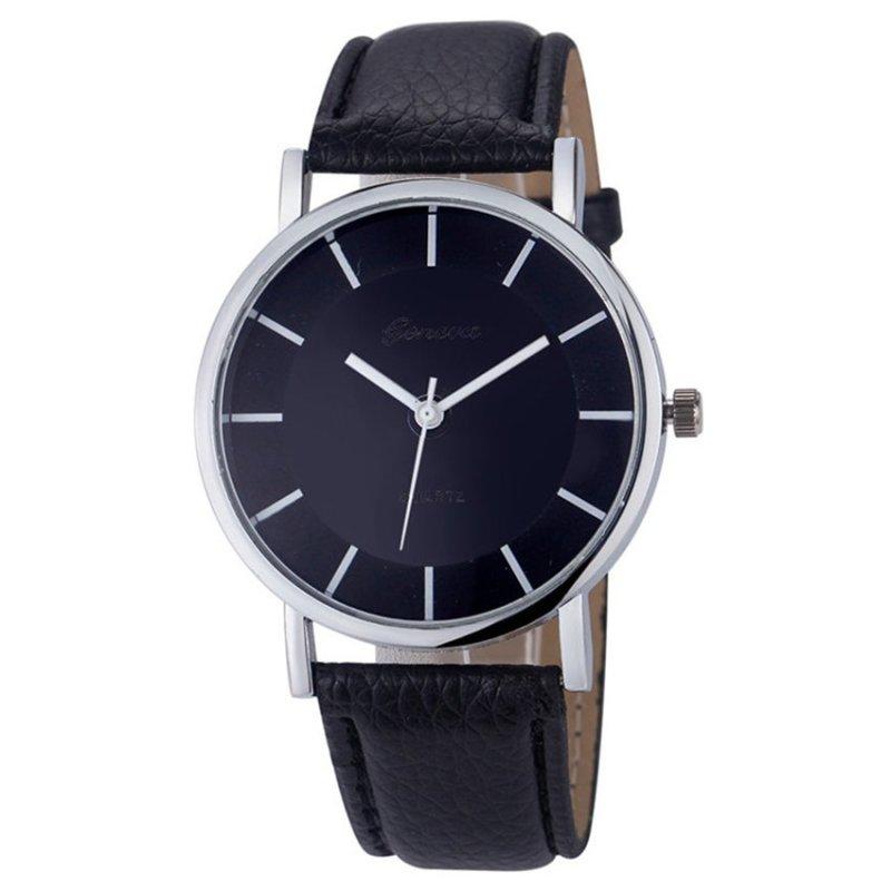 Nơi bán Đồng hồ nữ dây da tổng hợp Geneva GE014-6 (Kaki)