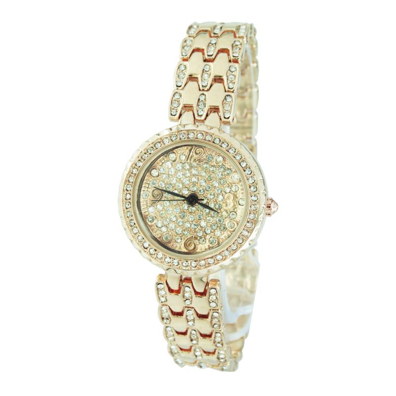 Nơi bán Đồng hồ nữ dây kim loại Be.Watch 0117 (Vàng hồng)