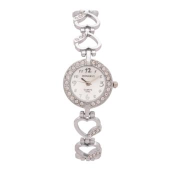 Đồng hồ nữ dây kim loại Be.Watch Hr1741 (Bạc)