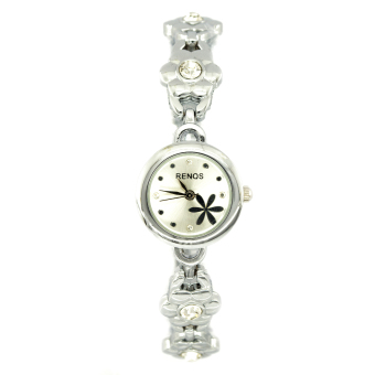 Đồng hồ nữ dây kim loại Renos RN18921-15NU (Trắng)
