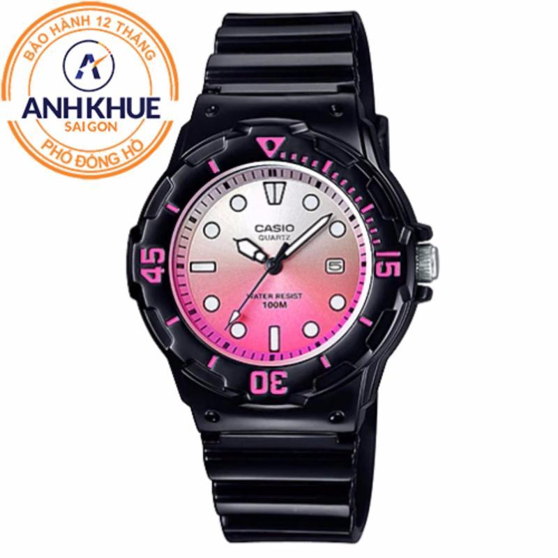 Nơi bán Đồng hồ nữ dây nhựa Casio Anh Khuê LRW-200H-4EVDR