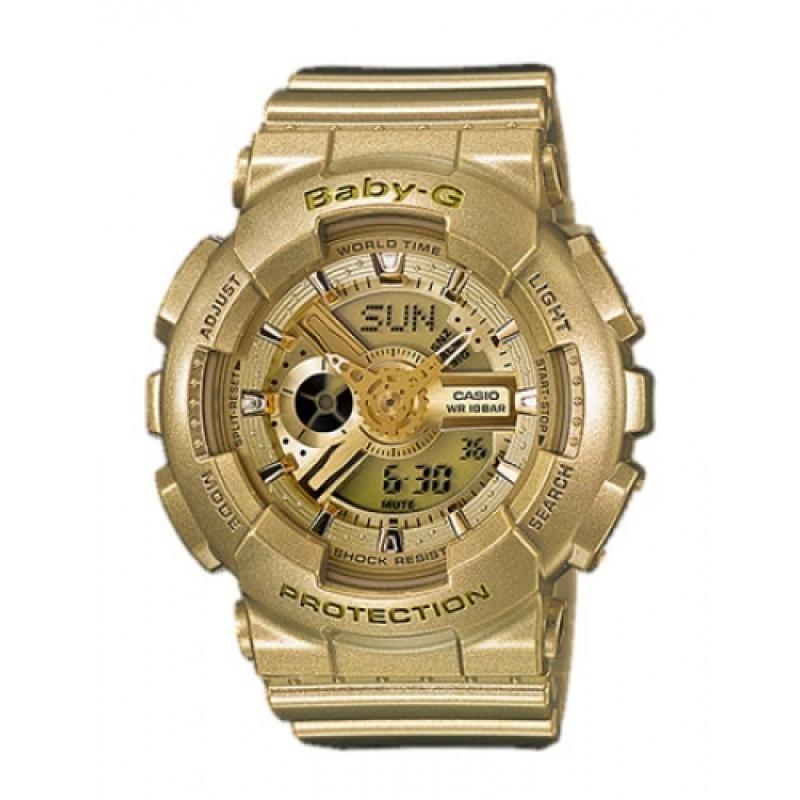 Nơi bán Đồng Hồ Nữ Dây Nhựa Kim-Điện Tử Casio Baby-G Ba-111-9adr (Vàng Gold Nhạt)