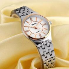 Đồng hồ nữ dây thép chống gỉ SKMEI 1133