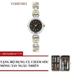 Thông tin Sp Đồng hồ nữ dây thép đính đá YOHEMEI CH368 – D1A + GD01 + Tặng bộ cắt móng tay ngẫu nhiên  Tini shop
