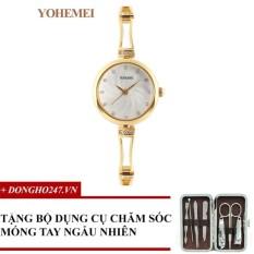 Khuyến Mãi Đồng hồ nữ dây thép đính đá YOHEMEI CH374 – D7A + GD01 + Tặng bộ cắt móng tay ngẫu nhiên  Tini shop